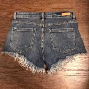 BLANKNYC Super comfy high-waisted denim shorts